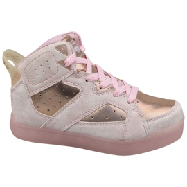Skechers E-Pro II Lavish Lights Jr 20061L-LTPK Schuhe pink
