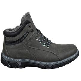 Isolierte MCKEYLOR-Schuhe grau