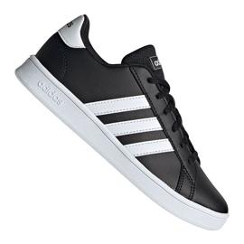 Adidas Grand Court Jr EF0102 Schuhe schwarz
