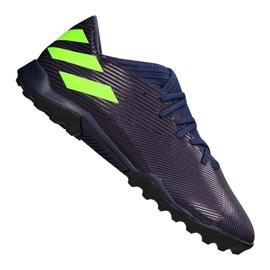 Adidas Nemeziz Messi 19.3 Tf M EF1809 Schuhe lila, grün lila