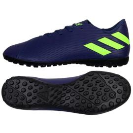 Adidas Nemeziz Messi 19.4 Tf M EF1805 Schuhe marineblau marine