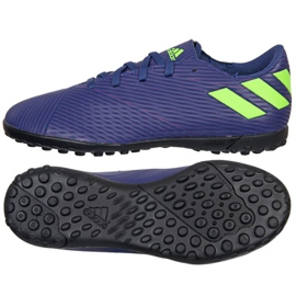 Adidas Nemeziz Messi 19.4 Tf Jr EF1818 Schuhe marineblau marine