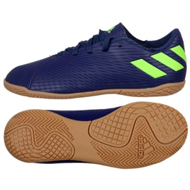 Adidas Nemeziz Messi 19.4 In Jr. EF1817 Fußballschuhen marineblau marine