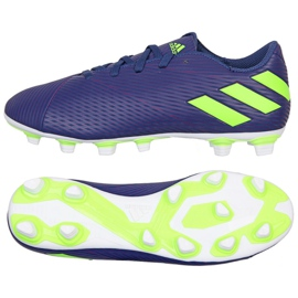 Adidas Nemeziz Messi 19.4 Fg M EF1807 Schuhe lila violett
