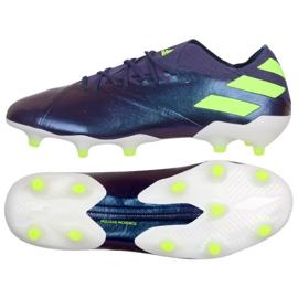 Adidas Nemeziz Messi 19.1 Fg M EG7332 Schuhe violett lila