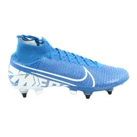 Nike Mercurial Superfly 7 Elite SG-Pro Ac M AT7894-414 Fußballschuhe blau