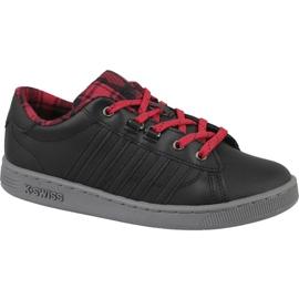 K-Swiss Hoke Plaid Jr 85111-050 Schuhe schwarz