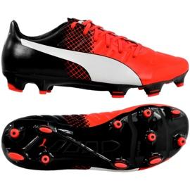 Puma Evo 2.3 Fg M 103853 01 Fußballschuhe schwarz schwarz