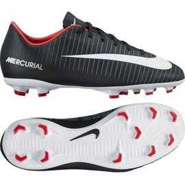 Nike Mercurial Vapor Xi Fg Jr 831945-002 Fußballschuhe schwarz schwarz