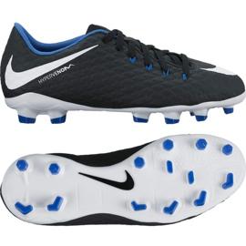 Nike Hypervenom Phelon Iii Fg Jr 852595-002 Schuhe schwarz schwarz