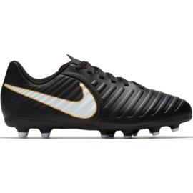 Nike Tiempo Rio Iv Fg Jr 897731-002 Fußballschuhe schwarz schwarz