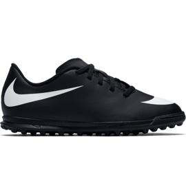 Nike Bravatax Ii Tf Jr 844440-001 Fußballschuhe schwarz schwarz