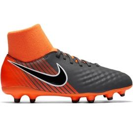 Nike Magista Obra 2 Academy Df Fg Jr AH7313-080 Fußballschuhe schwarz schwarz