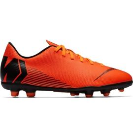 Nike Mercurial Vapor 12 Club Mg Jr AH7350-810 Fußballschuhe orange orange