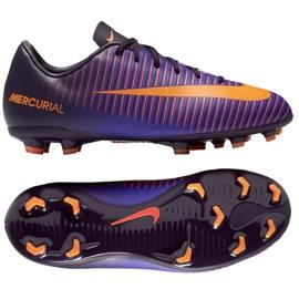 Nike Mercurial Vapor Xi Fg Jr 831945-585 Fußballschuhe violett lila