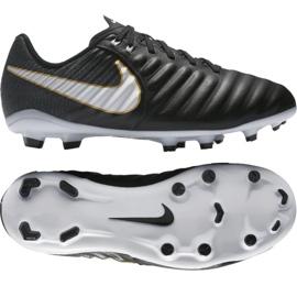 Nike Tiempo Iv Fg Jr 897725-002 Fußballschuhe schwarz schwarz