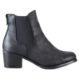 Goodin Bequeme Jodhpur-Stiefel schwarz