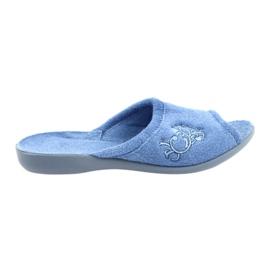 Befado Damenschuhe PU 256D003 blau