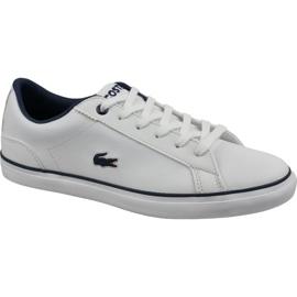 Lacoste Lerond Bl 2 Jr 737CUJ0027042 Schuhe weiß