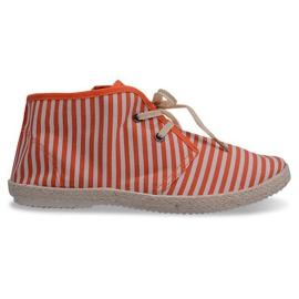Stiefel Straw Sole Sole 2607 Orange