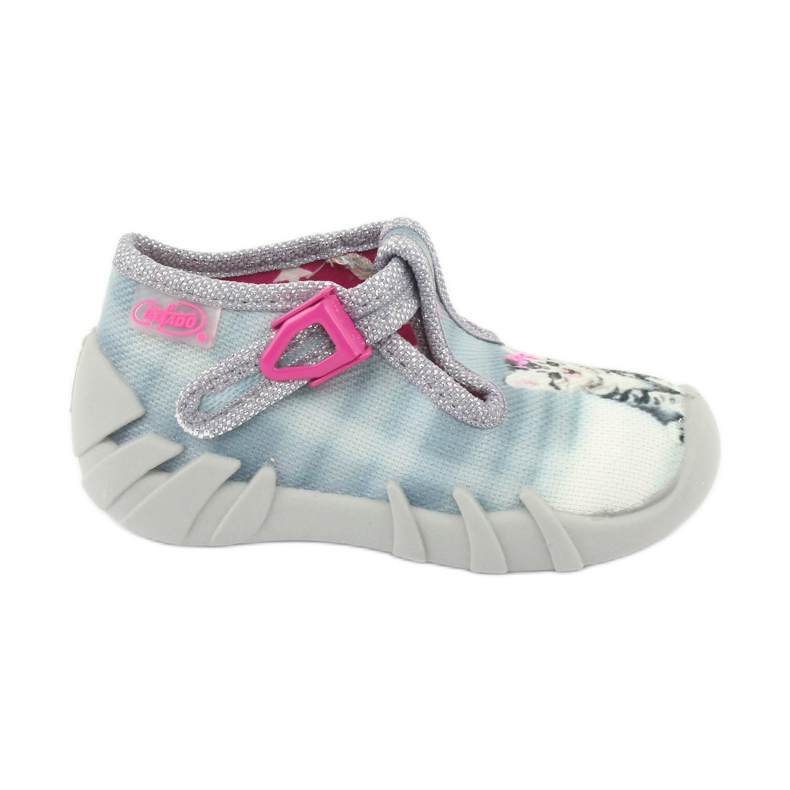 Befado Kitty Kinderschuhe 110P365 grau