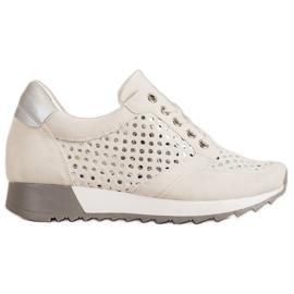 Kylie Durchbrochene Schuhe Auf Der Plattform braun