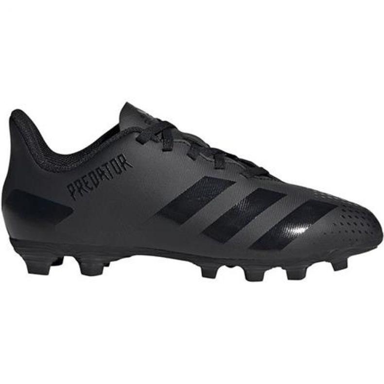 Adidas Predator 20.4 FxG Jr EF1932 Fußballschuhe schwarz schwarz