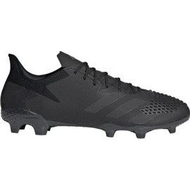 Adidas Predator 20.2 Fg M EF1630 Fußballschuhe schwarz weiß, schwarz