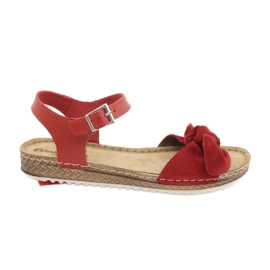 Comfort Inblu Damenschuhe 158D117 rot