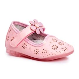 Apawwa Kinderwohnungen Klettblume Rosa Flored pink