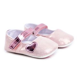 Apawwa Baby Sneakers Klettverschluss Taufe Pink Bellawa