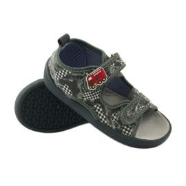 American Club Pantoffeln Amerikanische Sandalen Leder Innensohle 3