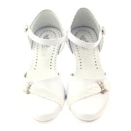 Courtesy Ballerinas Communion Miko 714 weiß 4