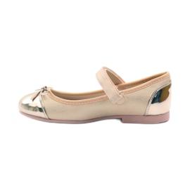 American Club Velcro Ballerinas Schuhe American 14297 2