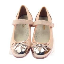 American Club Velcro Ballerinas Schuhe American 14297 4