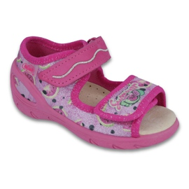 Befado PU 433P030 Kinderschuhe pink 1