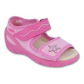 Befado Kinderschuhe PU 433X032 pink 1