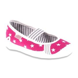 Befado Kinderschuhe 193X063 pink 1