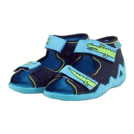 Befado Kinderschuhe Hausschuhe Sandalen 250p068 3