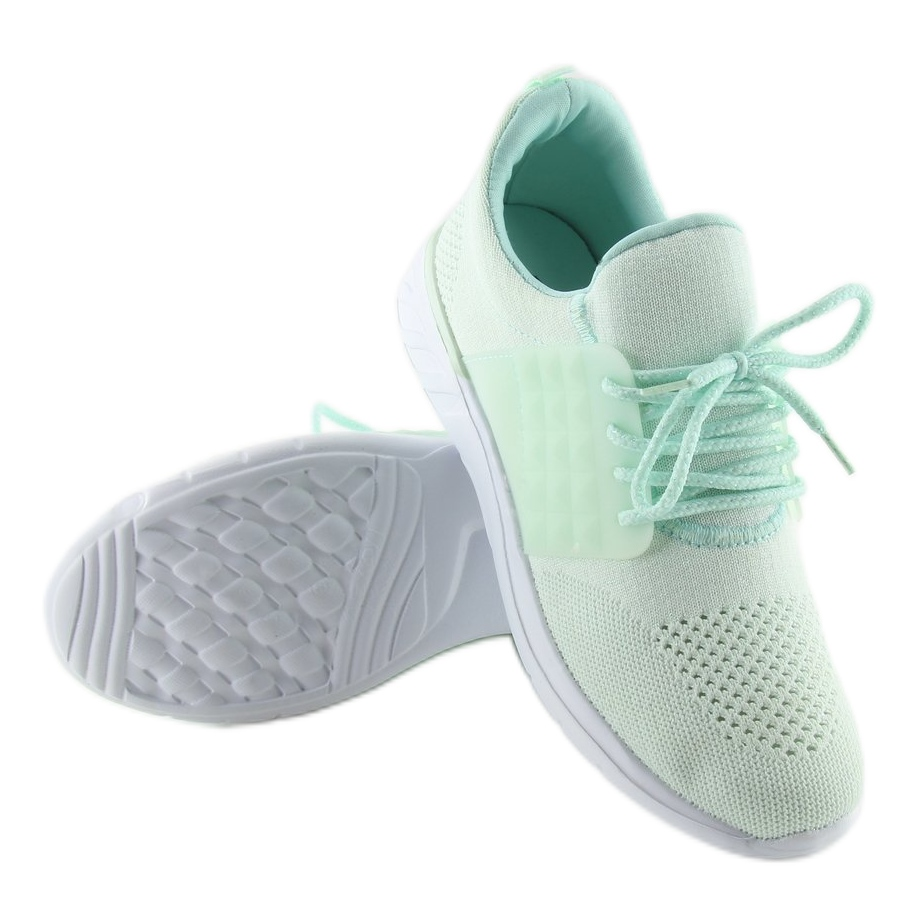 Grün Damen Mint Schuhe C928 38 Lakegreen ButyModne.pl