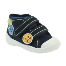 Hausschuhe Sneaker Befado 212p054 Marineblau 1