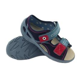 Sandalen Ledersohle Befado 065x 3