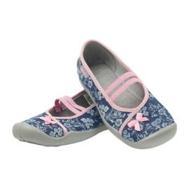 Hausschuhe Blumen Befado 116y232 Jeans 4