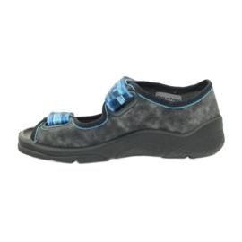Sandalen Hausschuhe Klettverschluss Befado 969x117 2