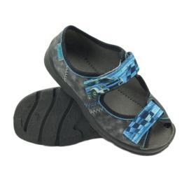 Sandalen Hausschuhe Klettverschluss Befado 969x117 3