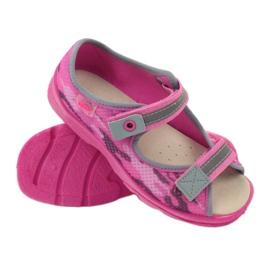 Sandalen Hausschuhe Klettverschluss Befado 969y112 3