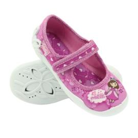 Befado Kinderschuhe Ballerina Hausschuhe 114x306 3