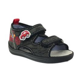 American Club Amerikanische Sandalen Kinderschuhe Leder Einlegesohle 1