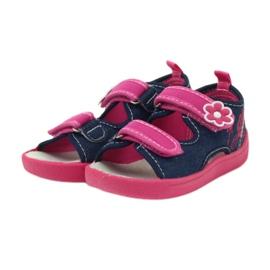 American Club Amerikanische Sandalen Kinderschuhe Leder Einlegesohle 3