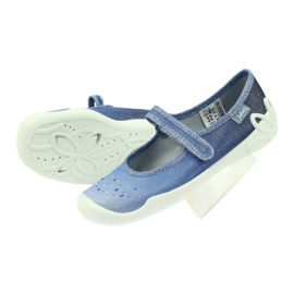 Pantoffeln Mädchen Pailletten Befado 114y316 5